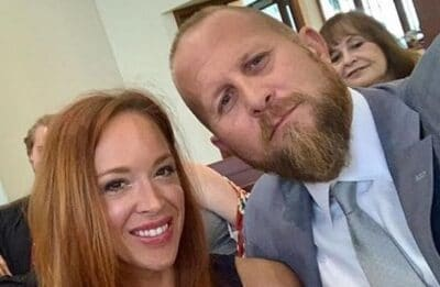 Candice Blount and her husband Brad Parscale Photo