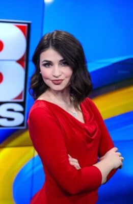 WOWK 13 Anchor and Reporter Lily Bradley photo