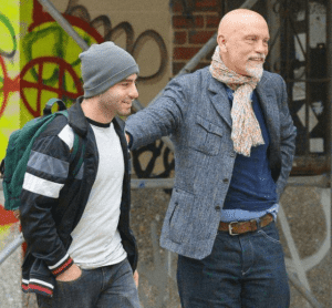 Loewy Malkovich and His dad Photos
