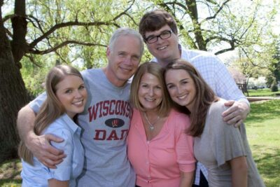 Carrie Johnson and her Family Photo