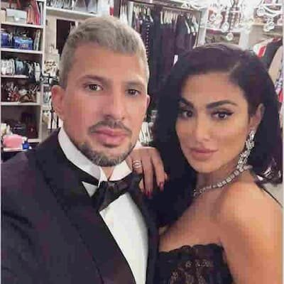 Christopher Goncalo and his Wife Huda Image