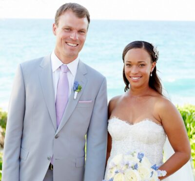 Paige Johnson and her husband Dudley Payne III Photo