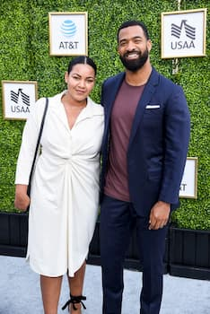 A photo of Blair duckworth and her husband Spencer Paysinger